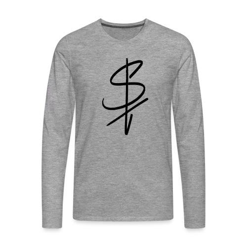 logo st - Männer Premium Langarmshirt