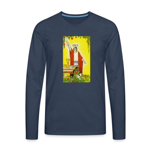 tarot - Mannen Premium shirt met lange mouwen