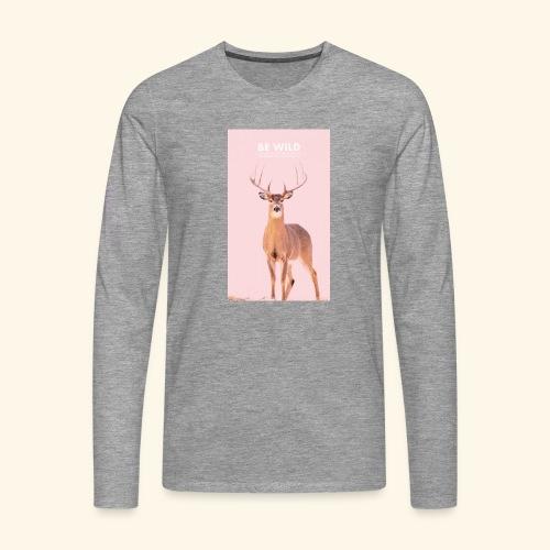 Be Wild - T-shirt manches longues Premium Homme