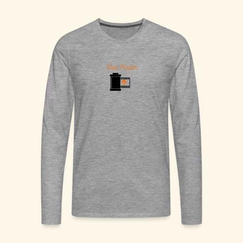 Foto Master - Herre premium T-shirt med lange ærmer