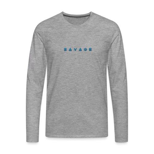 savage - Männer Premium Langarmshirt
