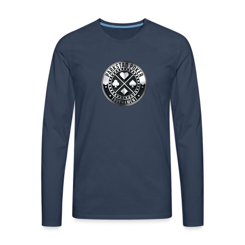 PPT rond - Mannen Premium shirt met lange mouwen