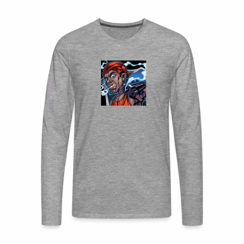 Crooks Graphic thumbnail image - T-shirt manches longues Premium Homme