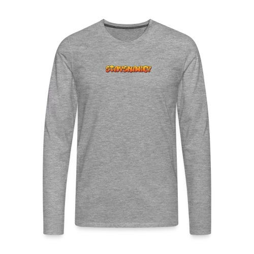 womens jacket grey - Men's Premium Longsleeve Shirt