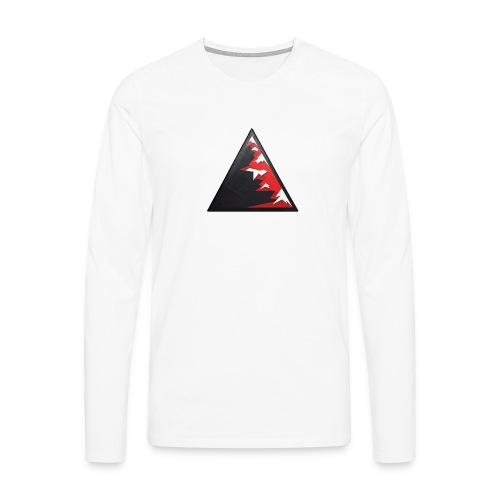 Climb high as a mountains to achieve high - Men's Premium Longsleeve Shirt