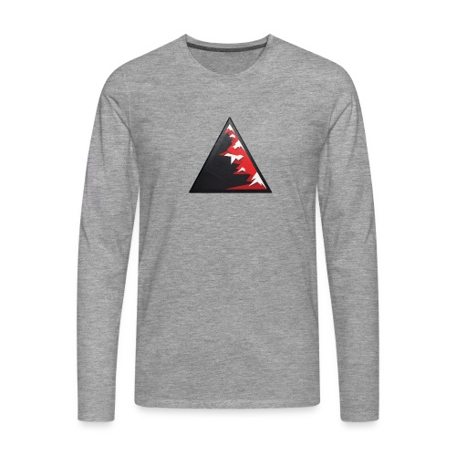Climb high as a mountains to achieve high - Men's Premium Longsleeve Shirt