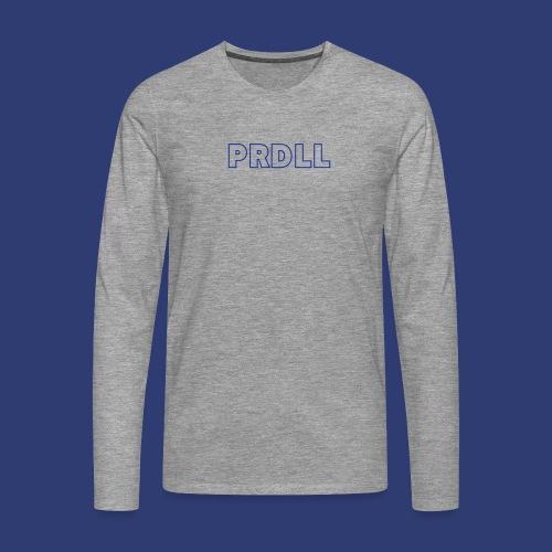PRDLL - Mannen Premium shirt met lange mouwen