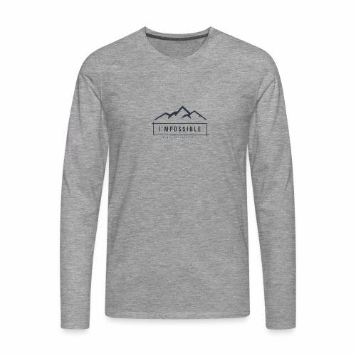 Impossible - Men's Premium Longsleeve Shirt