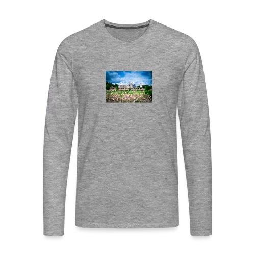 Barbara Mapelli - Castello di Chenonceau, Francia - Maglietta Premium a manica lunga da uomo