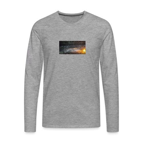 BIEBER - Männer Premium Langarmshirt