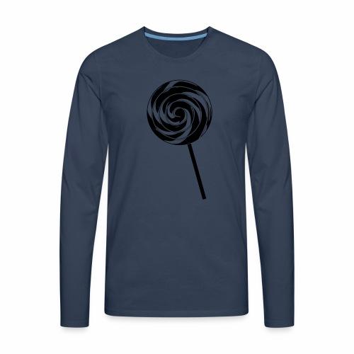 Retro Lolly - Männer Premium Langarmshirt