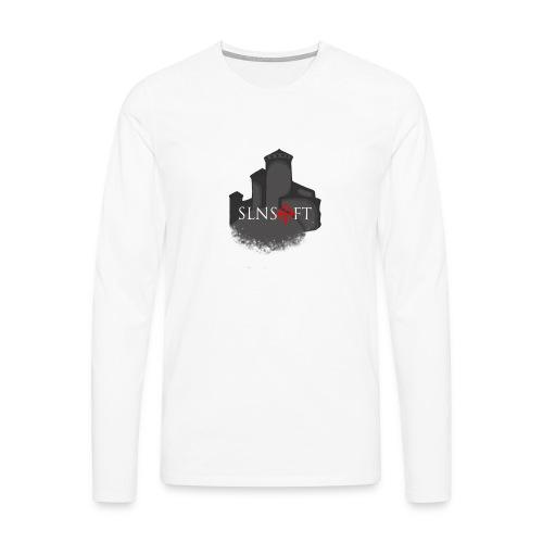 slnsoft - Miesten premium pitkähihainen t-paita