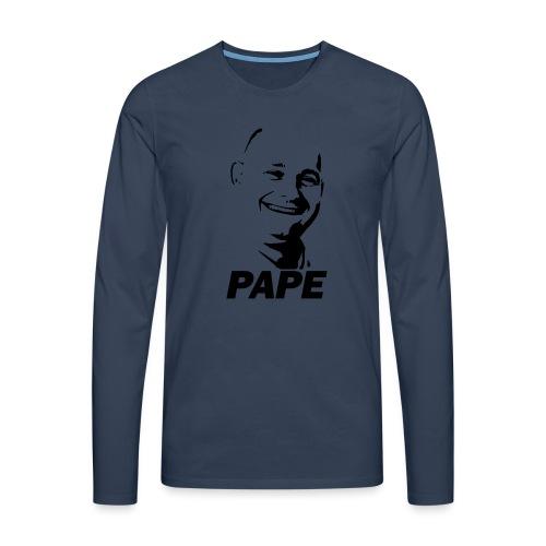 PAPE - Herre premium T-shirt med lange ærmer