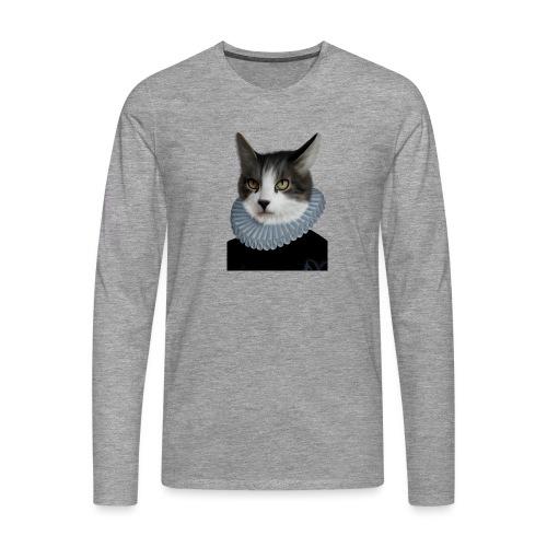 Noble Cat - Männer Premium Langarmshirt