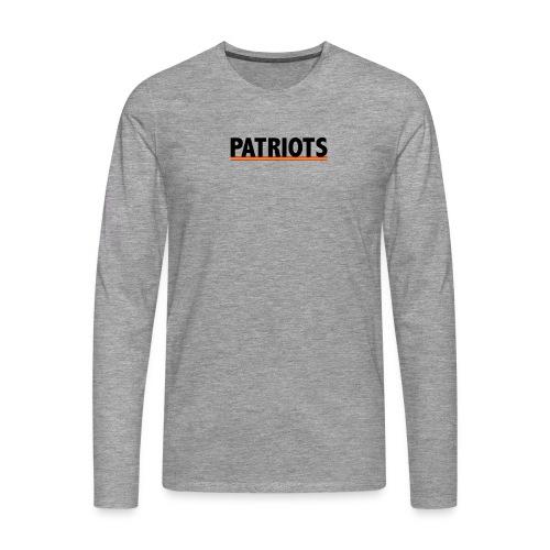 patriots españa - Camiseta de manga larga premium hombre