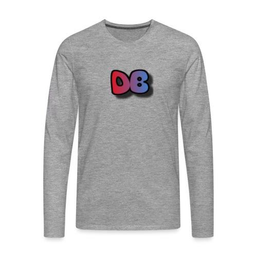 Double Games DB - Mannen Premium shirt met lange mouwen