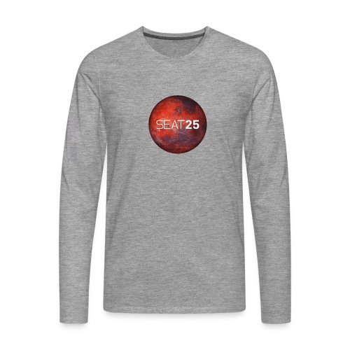 Mars and Logo - Men's Premium Longsleeve Shirt
