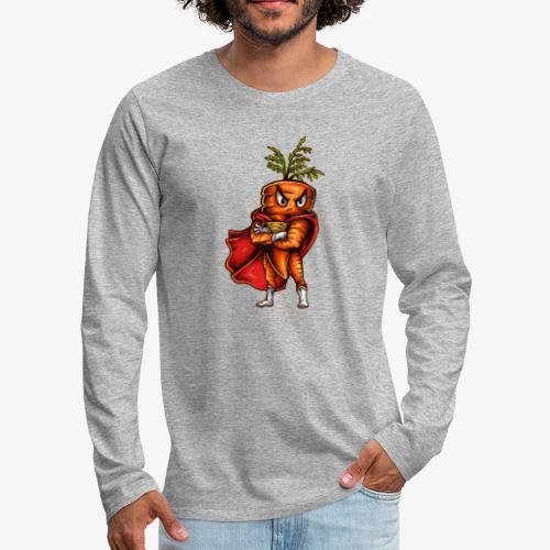Super Carrot - Männer Premium Langarmshirt