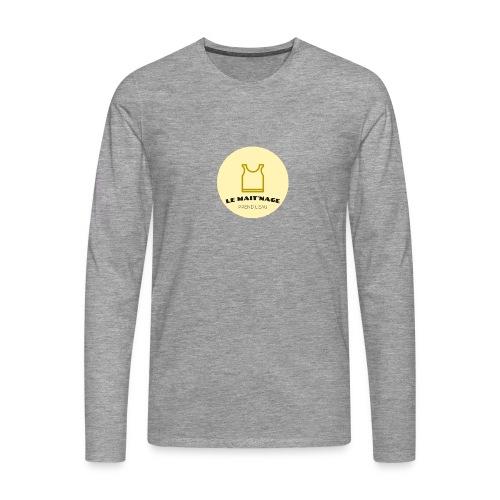 le Mait'Nage prend l'eau - T-shirt manches longues Premium Homme