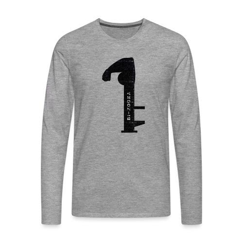 bi zooka - Herre premium T-shirt med lange ærmer