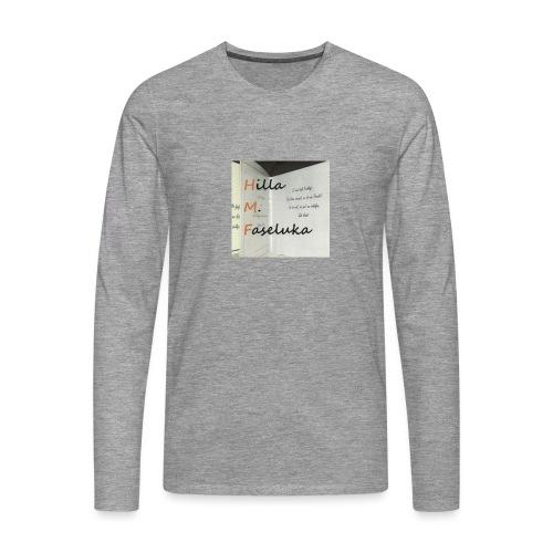 meinlogo jpg - Männer Premium Langarmshirt