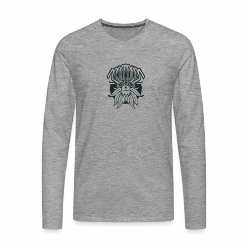 Abstract Creature @Bronkong - Männer Premium Langarmshirt