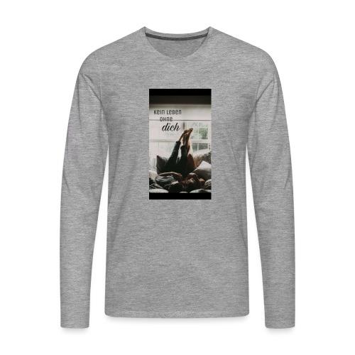 Beziehung - Männer Premium Langarmshirt