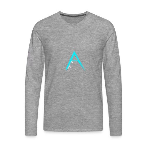 ANGISTEF SQUAD LOGO - Långärmad premium-T-shirt herr