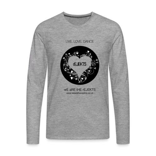 Live Love Dance - Men's Premium Longsleeve Shirt