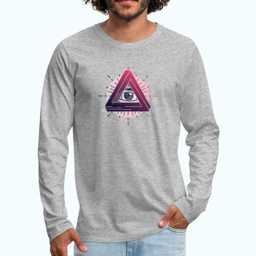 All Seeing Eye - Men's Premium Longsleeve Shirt