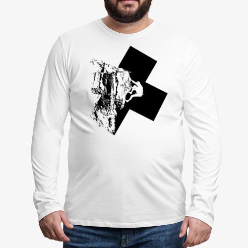 Rock climbing - Men's Premium Longsleeve Shirt