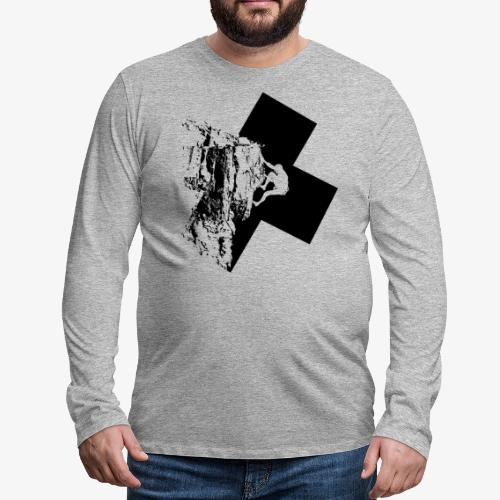 Escalada en roca - Men's Premium Longsleeve Shirt
