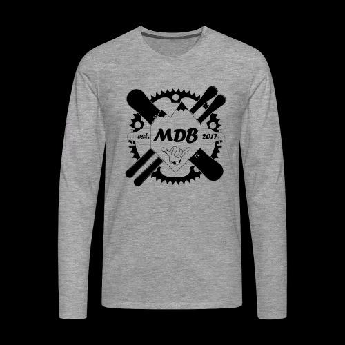 Madabe Logo Shirt - Männer Premium Langarmshirt