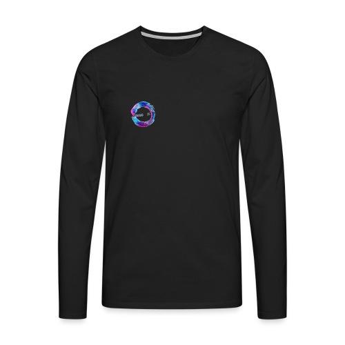 J h - Camiseta de manga larga premium hombre