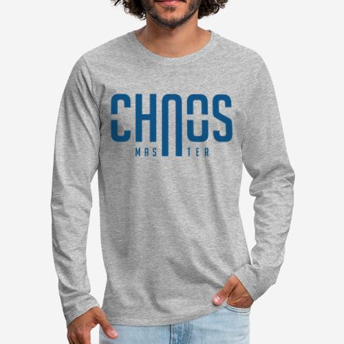 chaos master - Männer Premium Langarmshirt