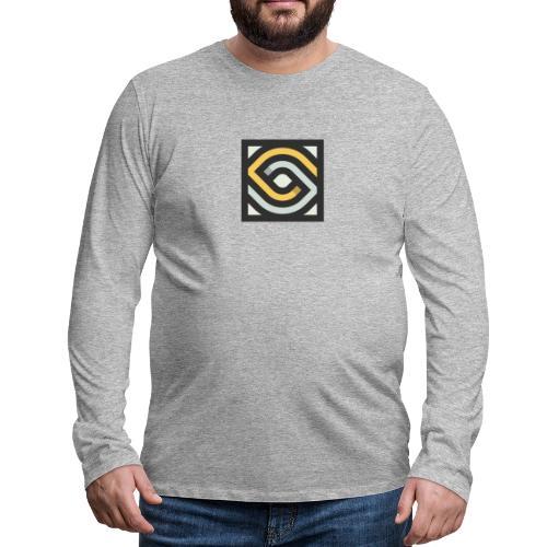 Auge - Männer Premium Langarmshirt