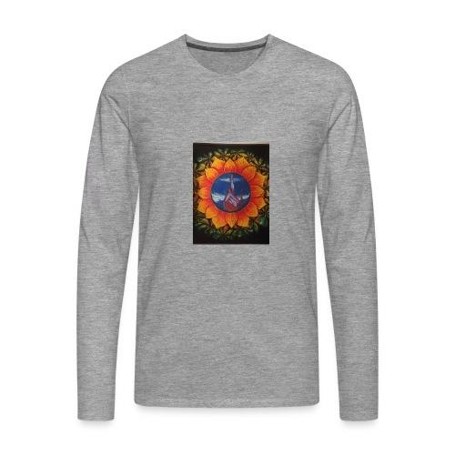 Children of the sun - Premium langermet T-skjorte for menn