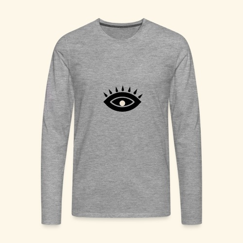 third eye - Långärmad premium-T-shirt herr