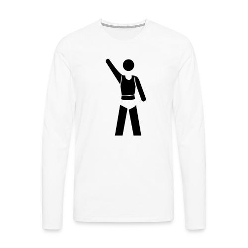 icon - Männer Premium Langarmshirt