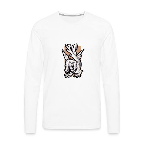 dragolino - Maglietta Premium a manica lunga da uomo