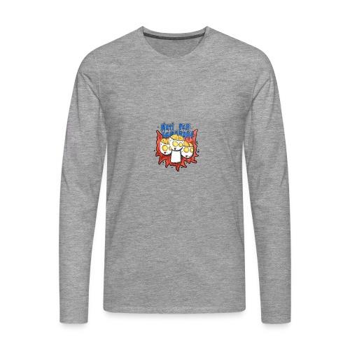 Natiperignorare - Maglietta Premium a manica lunga da uomo