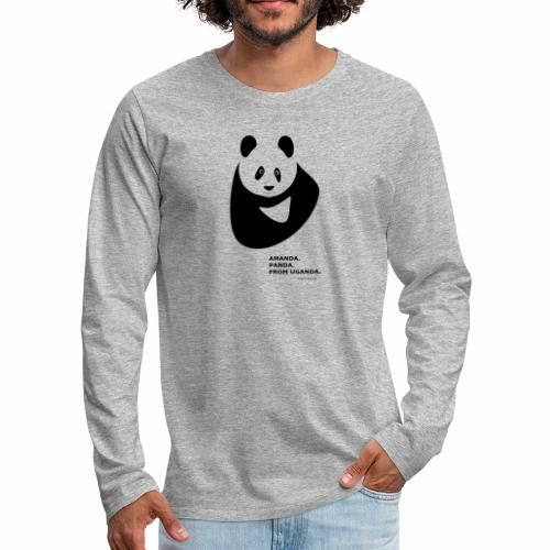 Panda from Uganda - Men's Premium Longsleeve Shirt