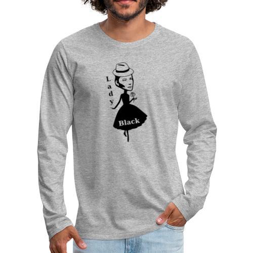Lady Black - Männer Premium Langarmshirt