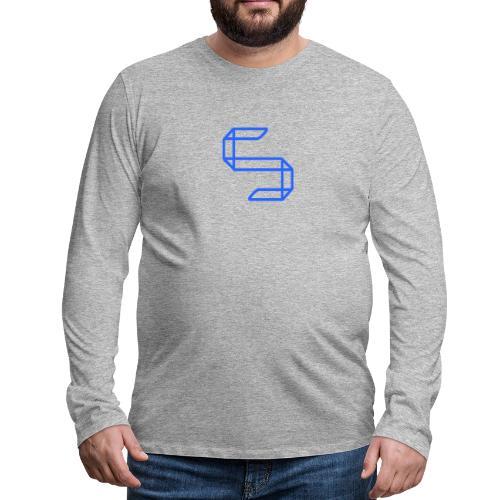 A S A 5 or just A worm? - Mannen Premium shirt met lange mouwen