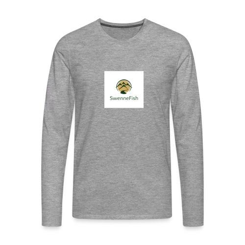 Logo 25 - Mannen Premium shirt met lange mouwen
