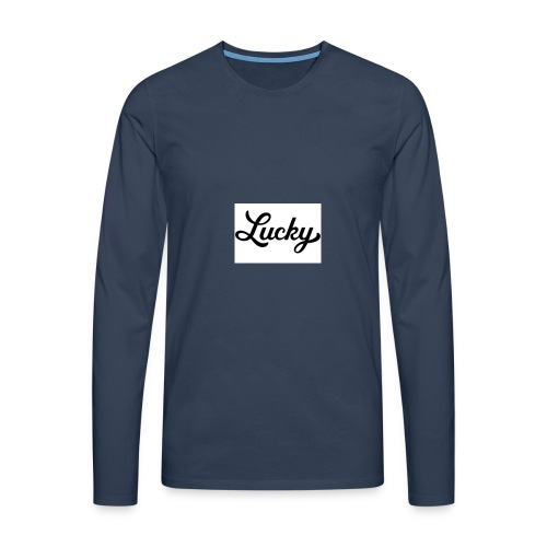 This is my YouTube channel merchandise #Youtube - Men's Premium Longsleeve Shirt