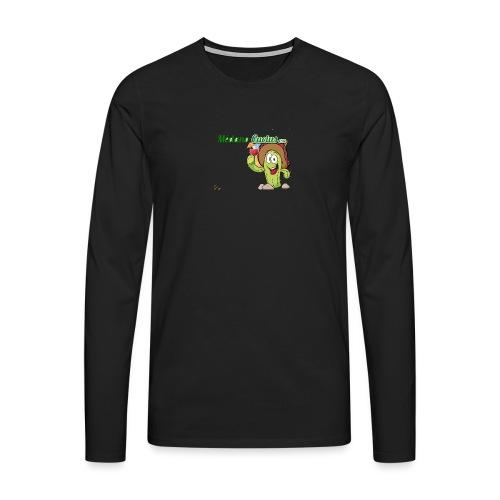 MC - Camiseta de manga larga premium hombre