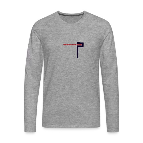 I believe in Jesus!!! - Männer Premium Langarmshirt