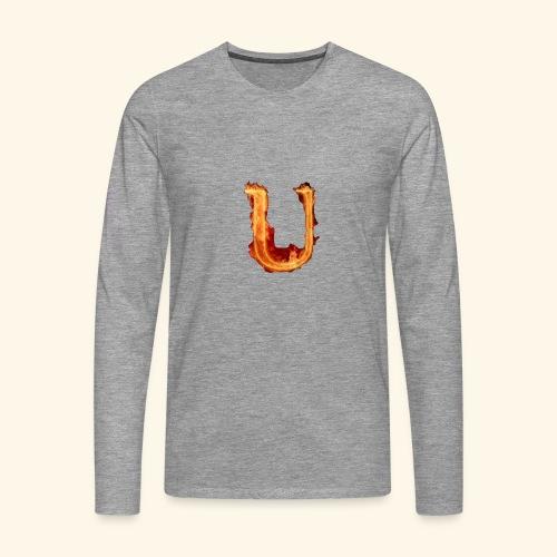 UppaWorld's Stuff - Maglietta Premium a manica lunga da uomo