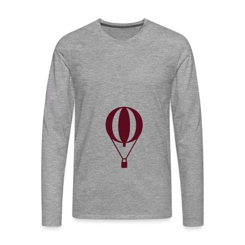 Gasballon prall - Männer Premium Langarmshirt